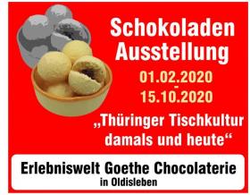 """Ausstellung """"Thüringer Tischkultur damals und heute"""""""